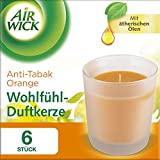 Best Air Wick Diffuseurs Aromathérapie - Air Wick Lot de 6 bougies parfumées anti-tabac Review