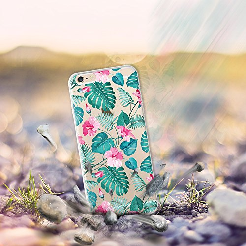 iPhone 6 6S Hülle, WoowCase® [ Hybrid ] Handyhülle PC + Silikon für [ iPhone 6 6S ] Universum Mädchen Mehrfarbig Handytasche Handy Cover Case Schutzhülle - Transparent Hybrid Hülle iPhone 6 6S D0310