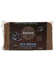 Biona Organic Rye Chia and Flax Seed Bread, 500g