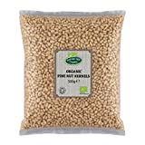 Organic Raw Pine Nut Kernels 500g by Hatton Hill Organic - Free UK Delivery