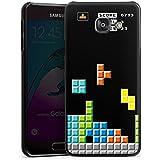 Samsung Galaxy A3 (2016) Housse Étui Protection Coque Jeu Tetris 8 bit couleurs