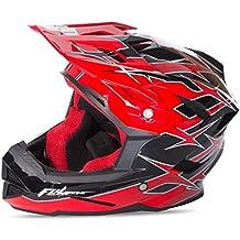 Fly 2017por defecto MTB BMX Downhill casco completo de adultos Shaun Palmer Negro/Rojo, color Shaun Palmer Black/Red, tamaño XS