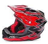 Fly 2017default BMX MTB downhill casco integrale adulto Shaun Palmer nero/rosso