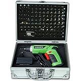 Casals VDSLI36K - Atornillador a batería de litio y maletín completo (4,7 W, 3,6 V)