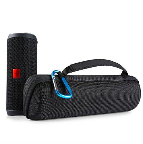Delhisalesmart Hard Travel Storage Carry Case For Jbl Flip 4, 3, 2 Waterproof Portable Outdoor Speaker Travel Case- Black(Speaker Not Included)  available at amazon for Rs.999