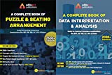 A Complete Book on Data Interpretation and Analysis, and A Complete Book for Seating Arrangement and Puzzles( A Combined Set of Two Books) Second Edition by Adda247