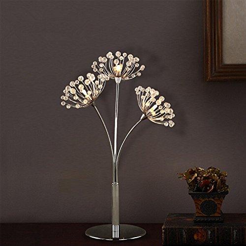 LINA-Lo stile moderno del carrello elevatore a forche fiori lampade a LED in acciaio di carbonio K9 ,36*47cm lampade in metallo