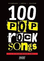 100 Pop Rock Songs + 5 CDs