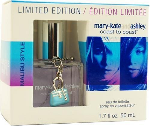 Mary-kate & Ashley By Mary Kate And Ashley For Women, Shore To Coast Malibu Style Lychee Fuschia Blossom Eau De Toilette Spray, 1.7-Ounce Bottle by Mary Kate and Ashley