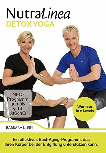"NutraLinea DVD ""DETOX YOGA"" – effektives Best-Aging-Programm, das Ihren Körper bei der Entgiftung unterstützen kann!"