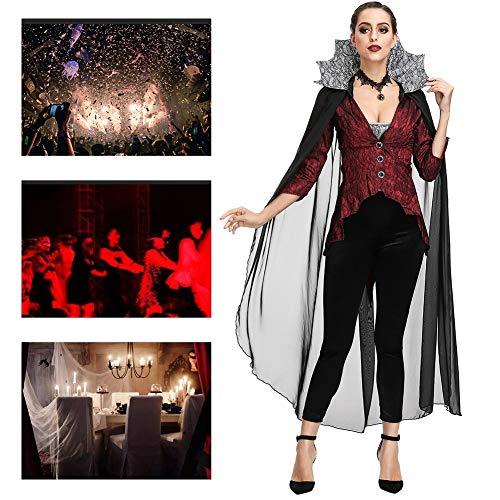 JH&MM Halloween Kostüm Damen Court Resurrection Hexe Langer Rock Set Cosplay Maskerade - Halloween Resurrection Kostüm