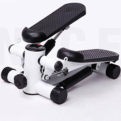 LY-01 Stepper Aerobe Übung Stepper Machine mit Widerstandsbänder für Cardio & ToningÜbungen - Einstellbare Schrittspannung mit Digital Counter & Kalorien verbrannt Display