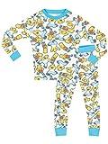 Simpsons - Pigiama a maniche lunga per ragazzi di Simpsons - Vestibilita Stretta - 5 - 6 Anni
