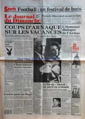 JOURNAL DU DIMANCHE (LE) [No 2172] du 31...