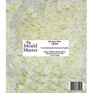 Moldmaster Öko-Sojawachs, 1kg, Weiß