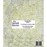 Moldmaster - Bolsa de cera de soja ecológica para velas (1 kg), color blanco