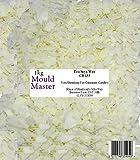 Moldmaster - Cera di soia naturale, 1 kg, colore bianco