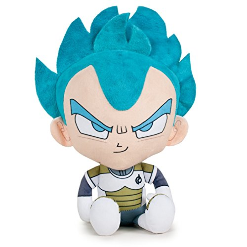 PELUCHE VEGETA BLUE DRAGON BALL SUPER 22 CM