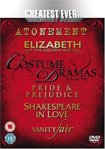 Greatest Ever Costume Dramas Vol.2 (Steelbook) [DVD] by Keira Knightley