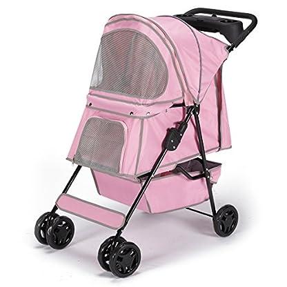 Guardian Gear Promenade Pet Stroller, Pink 2