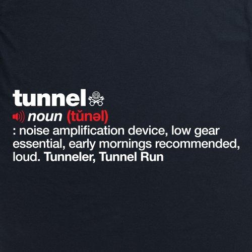 PistonHeads Tunnel T-Shirt, Damen Schwarz