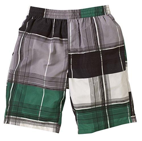Beco Herren Shorts Schwarz/Grün/Grau