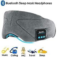 Preisvergleich für Bluetooth Schlafmaske,Augenmaske mit Wireless Bluetooth 4.2 HiFi Kopfhörer Schlafbrille Drahtlose Lautsprecher...