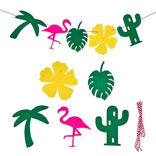 Guirnalda-de-Fiesta-Hawaiana-Pancarta-para-Verano-Festival-Luau-Playa-Materiales-de-Decoracin-de-Fiesta