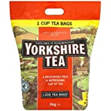 Taylors of Harrogate Yorkshire Tea 1200 Sachets de thé 3kg - Lot de 2