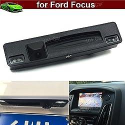 Pour Ford Focus 201520162017Ensemble de poignée de coffre de voiture Caméra de recul de sauvegarde de stationnement