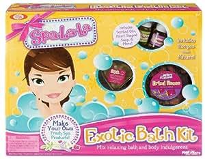 Kit de bain exotique SpaLaLa-