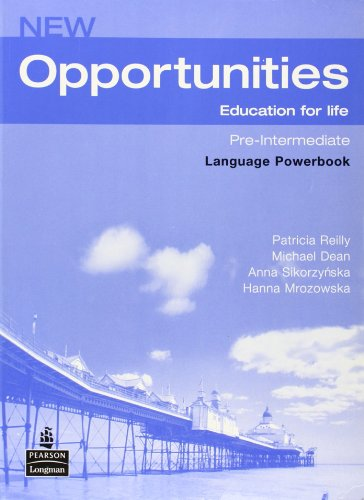 New Opportunities Pre-Intermediate. Language Powerbook por Reilly Patricia