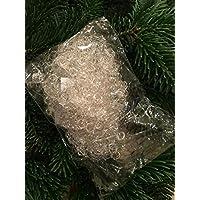 Engelshaar silber Weihnachtsbaum Engelhaar Christbaum 1,40€//10g 50g Lametta
