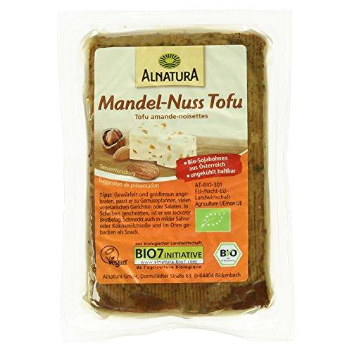 Produktbild Alnatura Bio Tofu Mandel-Nuss,  vegan,  6er Pack (6 x 200 g)