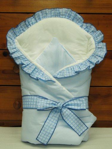 Baby Comfort Pucktuch, 80x80cm, Blau