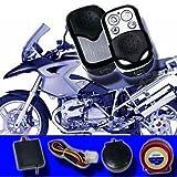 Motorrad/Roller Alarmanlage Funk Wegfahrsperre Fernstart Bike Quad LM-207A AL1