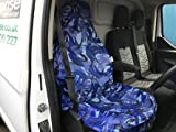 2 x Single Blau Camouflage Sitzbezug für Daihatsu Charade - Best Reviews Guide