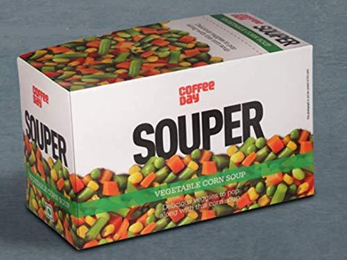 Coffee Day Veg Corn Soup, 25 sachets