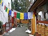 1 Rolle tibetischer Gebetsfahnen Nepal Silk ca. 24cm
