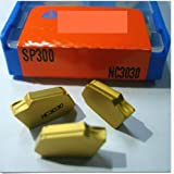 Gaobaijia 10pcs SP300 NC3030 Carbide Inserts New