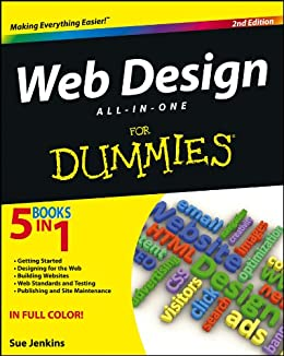 Web Design All-in-One For Dummies by [Jenkins, Sue]