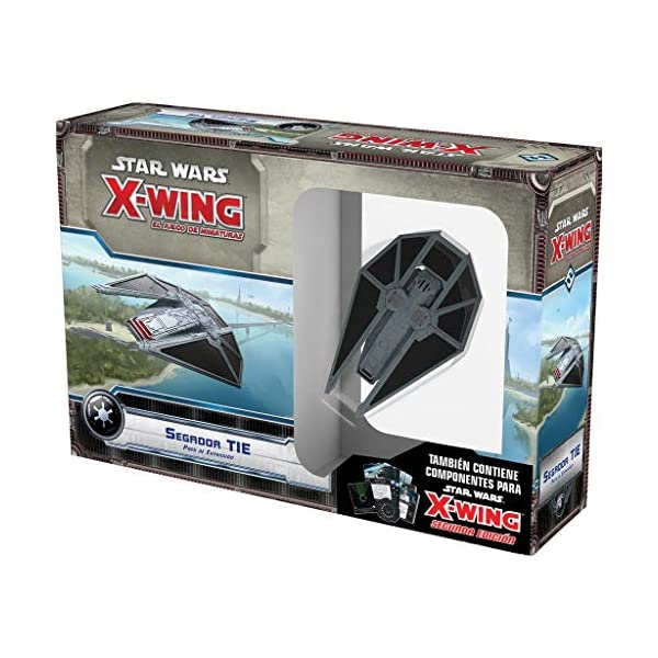 FFSWX68 Silenciador Tie-Espa/ñol Fantasy Flight Games Star Wars X-Wing