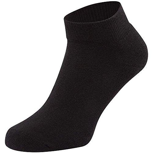 Fruit Of The Loom Unisex Quarter Trainer Socks (Pack Of 3)