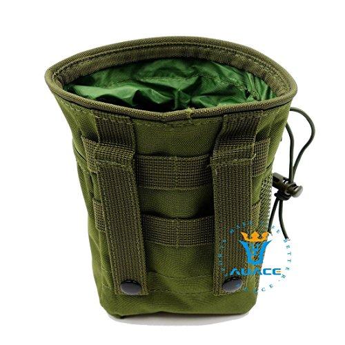 Multifunzione sopravvivenza Gear Pouch Tattico Molle Pouch rivista Dump munizioni Drop Utility Pouch Bag, campeggio portatile Borse Marsupio strumento Pouch Custodia da viaggio, MC OD