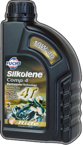 fuchs-silkolene-comp-4-10w-30-high-performance-motorcycle-engine-oil-1-litre