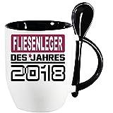 Löffelbecher Schwarz neu mit 2018