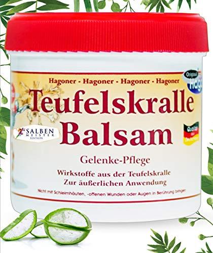 Teufelskralle-Balsam mit Aloe-Vera | Bei Muskelschmerzen und Gelenkbeschwerde | Teufelskralle-Creme | Teufelskralle-Salbe | Schmerz-Gel - 200 ml -