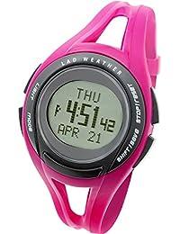 [LAD WEATHER] Orologi da polso In esecuzione Media/ minimo/ Bersaglio velocità/ distanza/ caloria/ Cronografo Cronometro Allarme Donna poliuretano