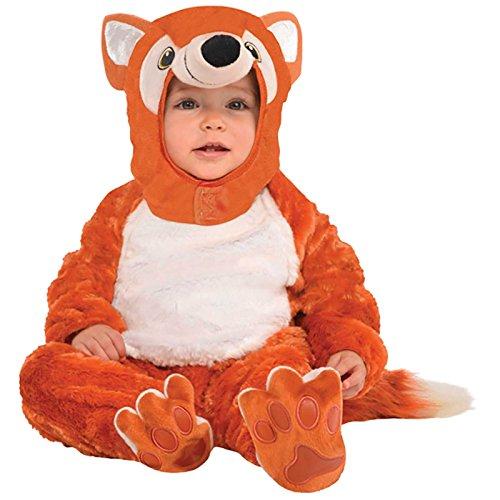 Imagen de amscan–disfraz de bebé peludo fox–campana y patucos