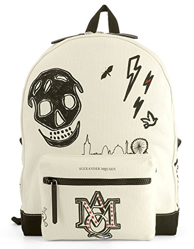 alexander-mcqueen-womens-455895k6jn9182-white-black-cotton-backpack